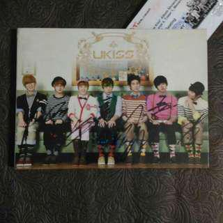 UKISS Bran New Kiss Album With Autographed