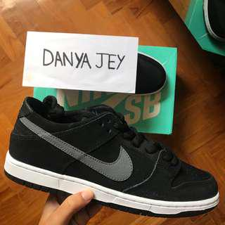 🚚 Nike SB Dunk Low Pro Ishod Wair Black/Light Graphite