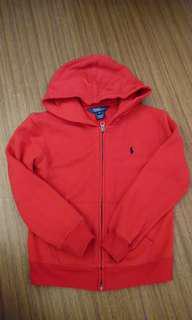 🚚 Polo 紅色連帽外套