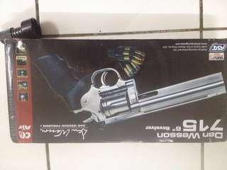 Airsoft 6inch ASG 357 MAGNUM REVOLVER