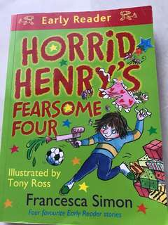 🚚 Horrid Henry Fearsome Four Early Reader
