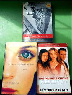 Book bundle: The Bride of Catastrophe, The Best Places to be and the Invisible Circus