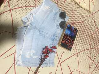 forever21 maong shorts