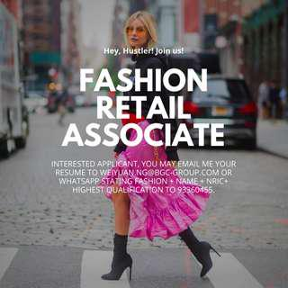 [PERM POSITION!] Fashion Style Advisor/ W Good benefit