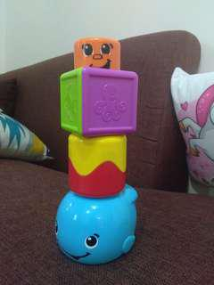 Fisher Price stacking peek-a-boo toy