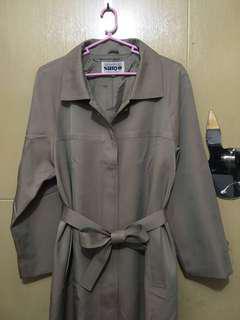 Korean Long Coat with belt