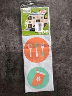 Kitchen Stove Area Wall Sticker