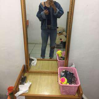 Jeans sobek 50k‼️