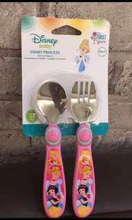 🚚 迪士尼兒童餐具🍴2入一組