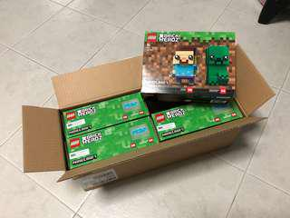 <DEREK> Lego BrickHeadz Minecraft Steve & Creeper 41612