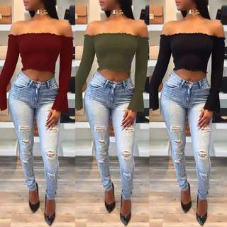 Crop top imports