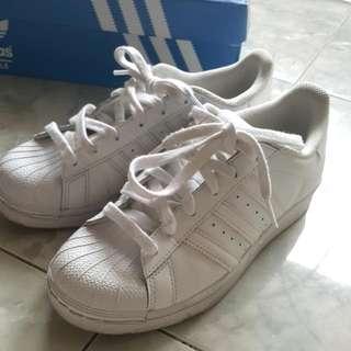 Adidas Original Superstar Ortholite All White