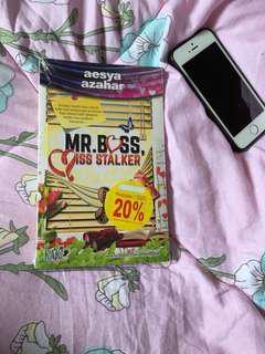 Novel Mr Boss Miss Stalker