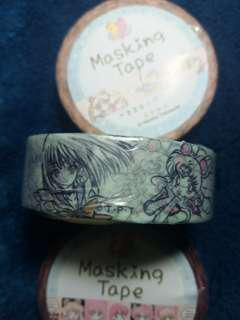 Sailor Moon Outer Senshi washi masking tape