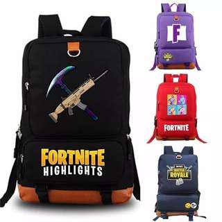 Fortnite Battle Royale backpack Student School Bag Daily backpack Notebook bag Gamer Lover PUBG Player