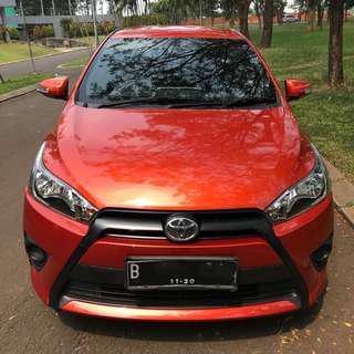 Toyota Yaris type E 2015