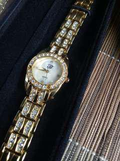 Elizabeth Taylor White diamonds Watch from USA