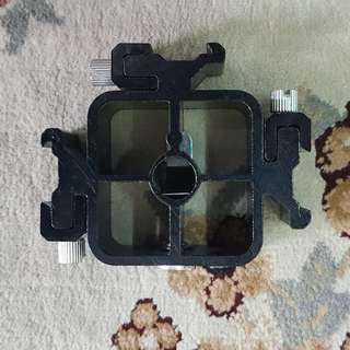 Quad Hotshoe Holder ( Four Hotshoe Mount ) You Can Put On Your Camera Too