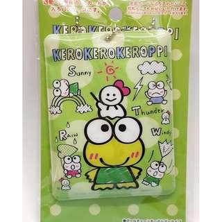 Sanrio Keroppi 青蛙八達通/卡片套附吊鏈