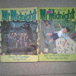 Mr Midnight Books #7 & #42