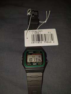 🚚 Casio Classic Digital Watch, Brand New With Tag F91W3DG