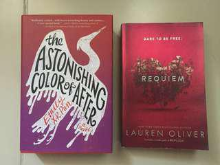 Bundle: The Astonishing Color of After (HB) and Delirium BN