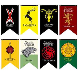 Game Of Thrones Flags And Banners Home Decor Games Decorate Winter is Come