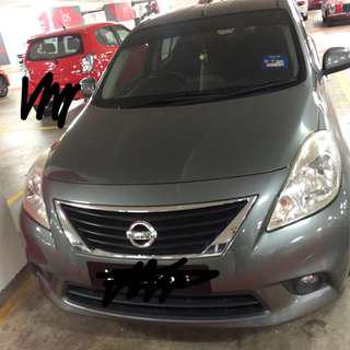 car for rent - Nissan Almera