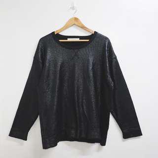 Zara shiny sweater