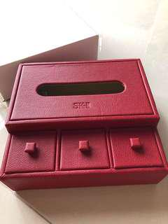 SK2 PVC Tissue Box holder