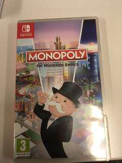 Switch 二手 歐版 monopoly