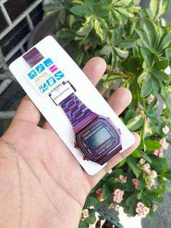 Casio limited edition violet watch