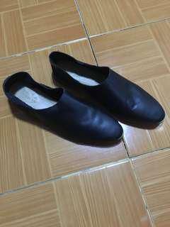 Zara black flat