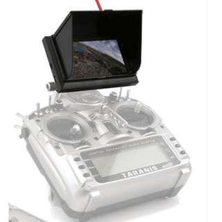 "FPV Monitor 4.3"" HD TFT LCD Screen (rechargeable)"