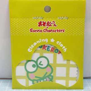 Sanrio Keroppi 青蛙 X Osomatsusan 清潔布合眼鏡及手機日本限定