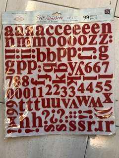 Prima Marketing Felt Alphabets 99pcs