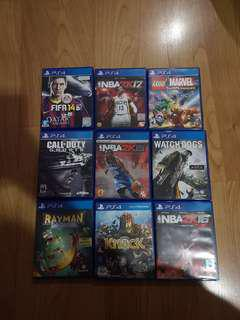 PS4 Original CD Games