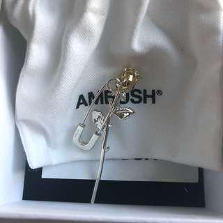 AMBUSH Rose charm earring