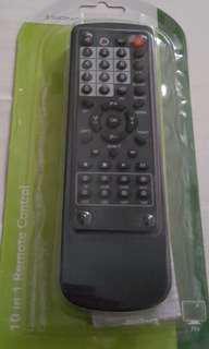 (Brand New) Super Light Weight 10 In 1 Remote Control.  Suitable For Most Tv, Vcr, Txt, Cable, Hifi, Cd Code, Ld, Aux, Sat, Dss, DVD.  5 Seconds For Setup.  《全新》超輕巧10合1 遙控。適合大部分電視機。超級方便,5秒setup.  Made in UK🇬🇧  英國製造🇬🇧 Super deals
