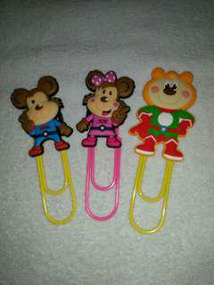 Character Big Paper Clips from Toms World