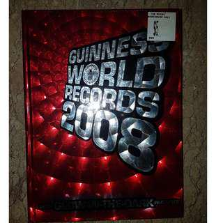 Guinness book of World Records 2008