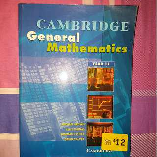 Cambridge General Mathematics