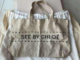 See By Chloe 帆布袋