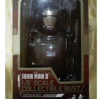 HOT TOYS War Machine Ironman 3 Collection Bust