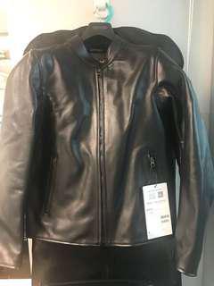 New Dainese Nera 72 Perf Leather Jacket, Black, size 50