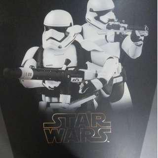Hot toys First Order Storm Trooper and Heavy Gunner Storm Trooper