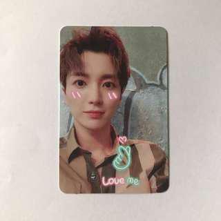 Super Junior Replay 8th Repackaged Album Leeteuk official photocard