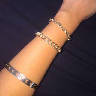 Lovisa Gold Bracelets