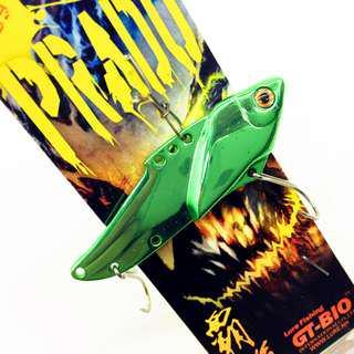 🚚 GT-BIO Metal Lure Jig Spinner Fishing Spoon 5 Color 20g VIB PRADO