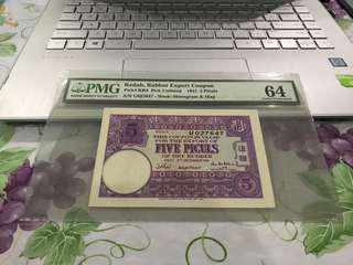 PMG Kedah Rubber Export Coupon